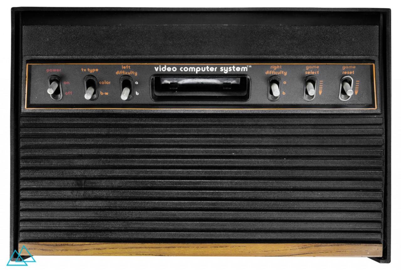 # 049 Atari 2600 Woodgrain Light 6er