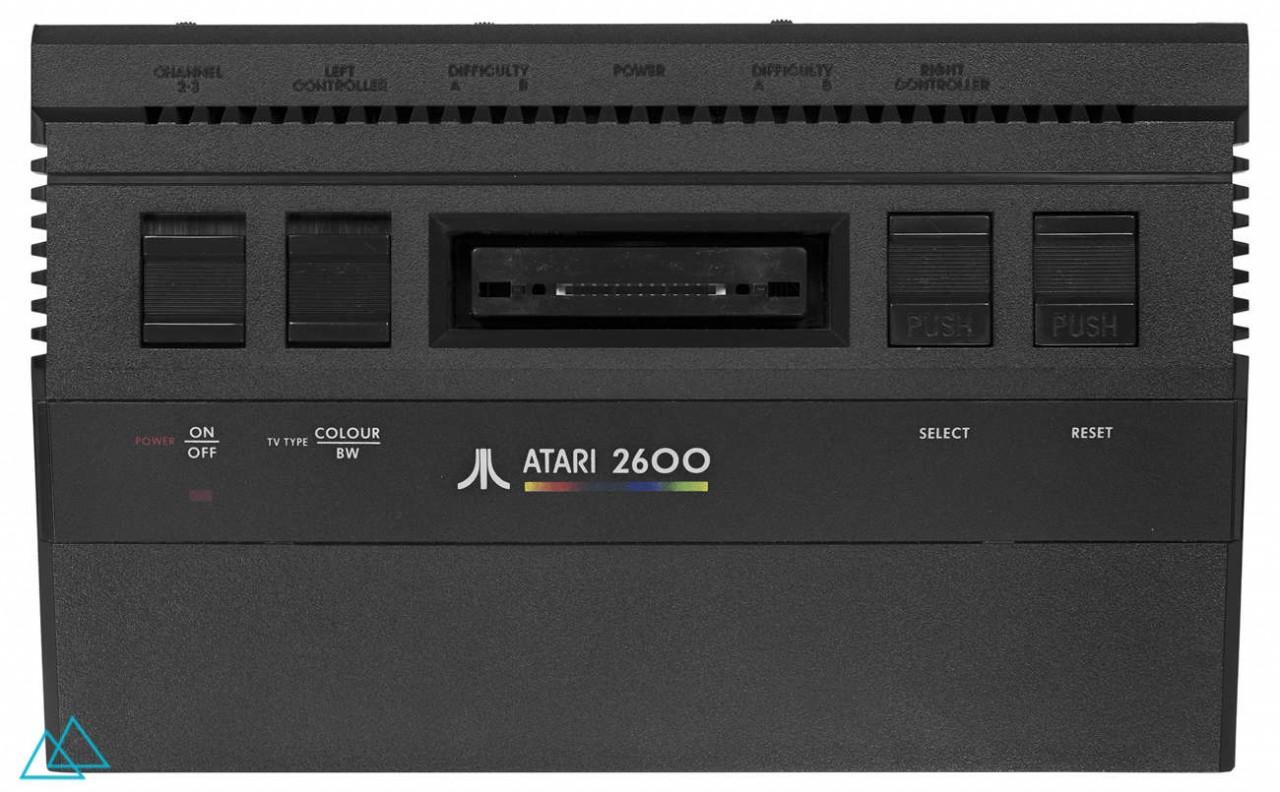 # 061 Atari CX 2600 Junior Black