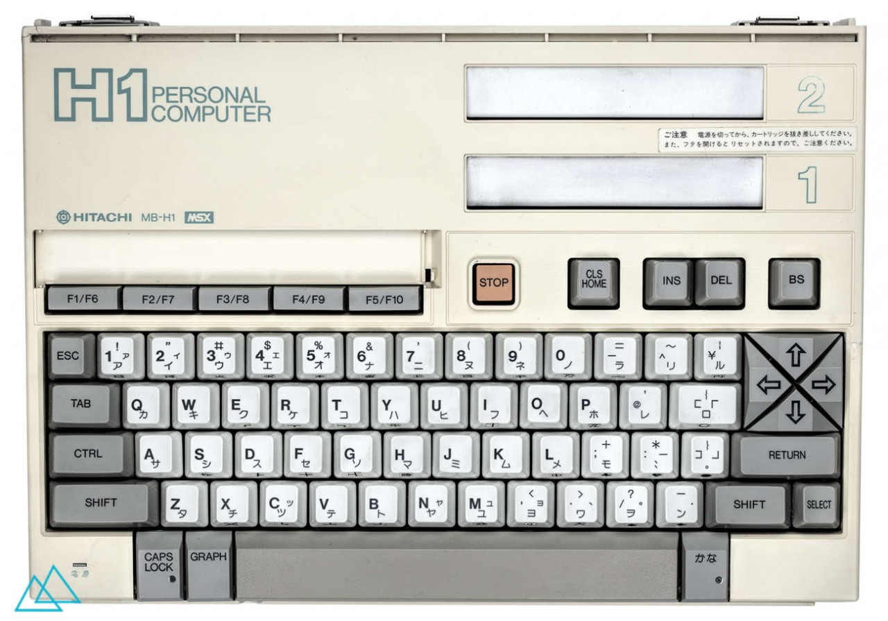 # 064 MSX Hitachi H1