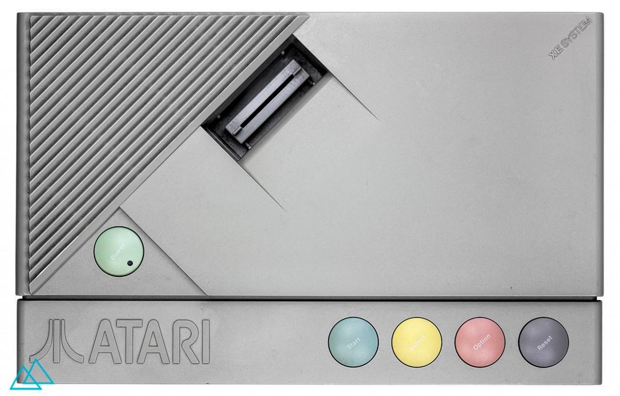 # 073 Atari XE Video Game System XEGS
