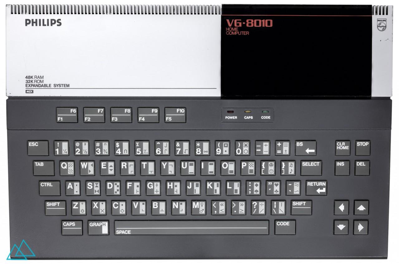 # 098 Philips MSX VG 8010