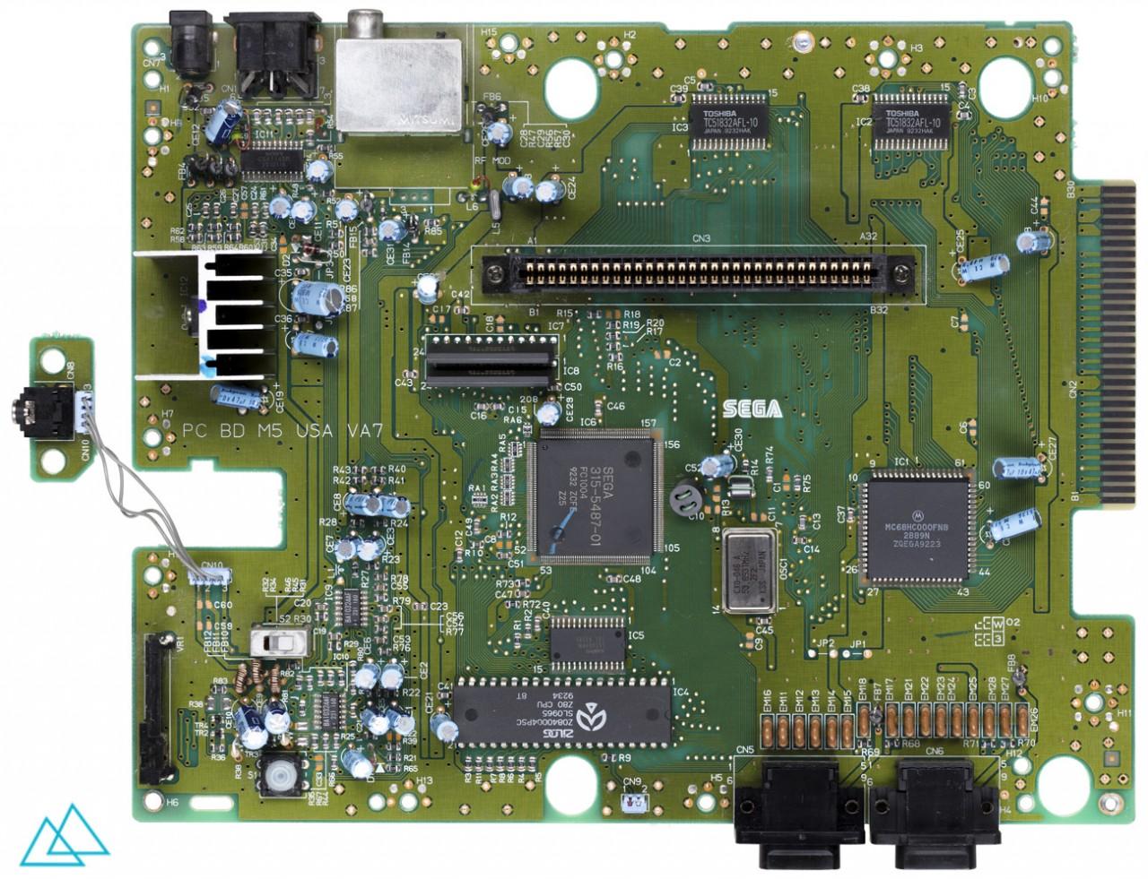# 107.1 Sega Genesis Main Board