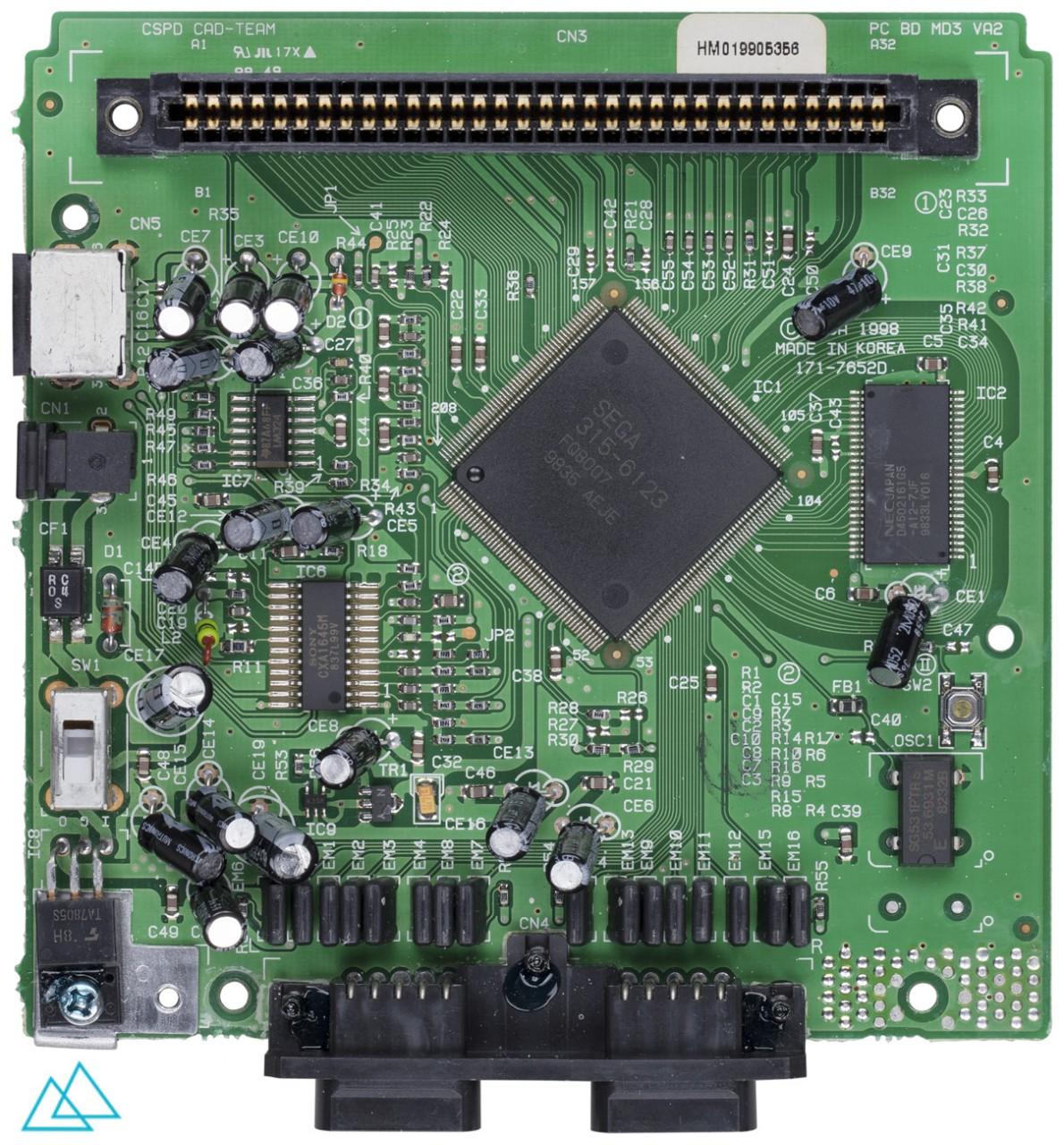 # 109.1 Sega Genesis 3 Main Board