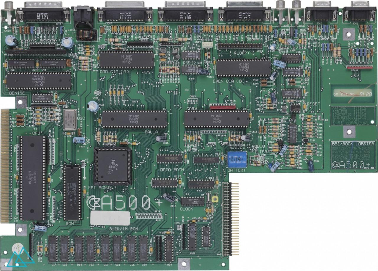 # 110.1 Commodore Amiga 500 + Main Board