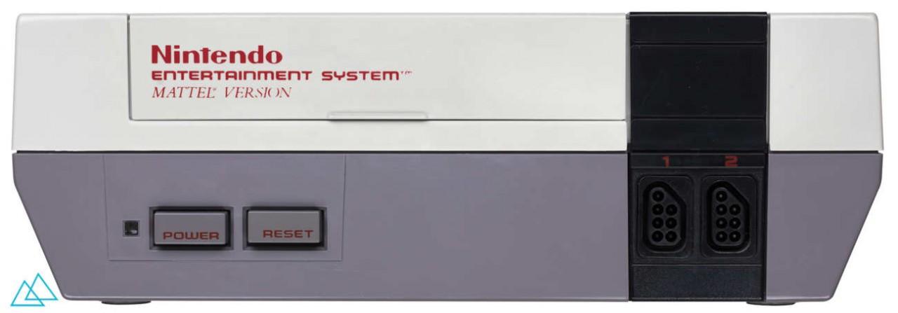 # 124 Nintendo NES Mattel Version