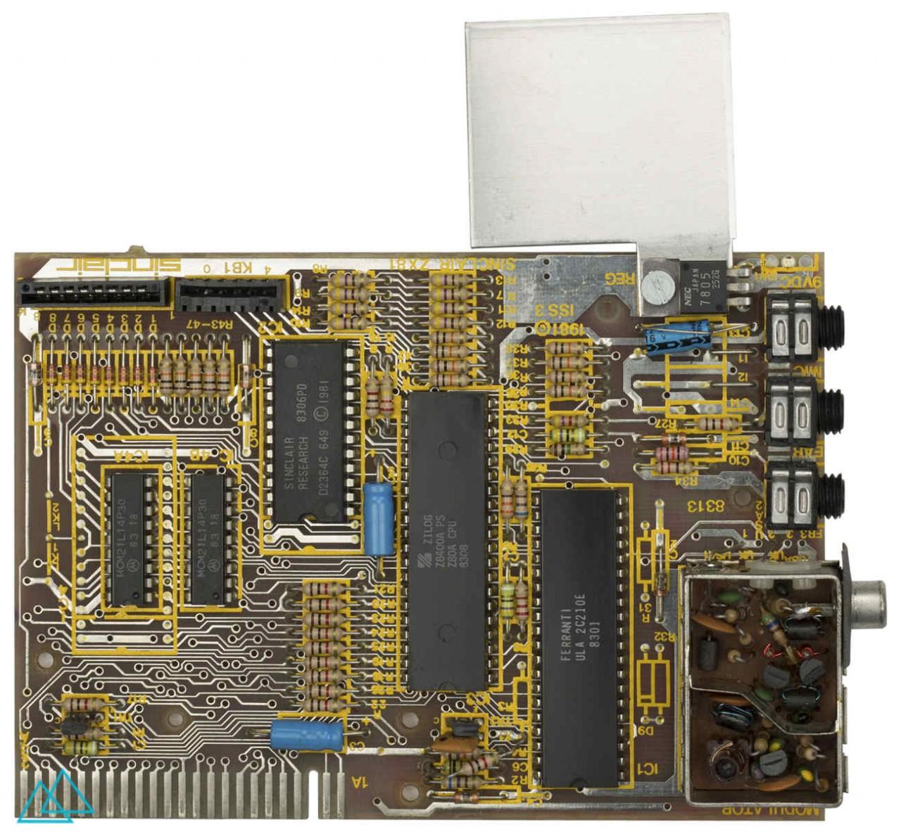 # 129.1 Sinclair ZX 81 Main Board