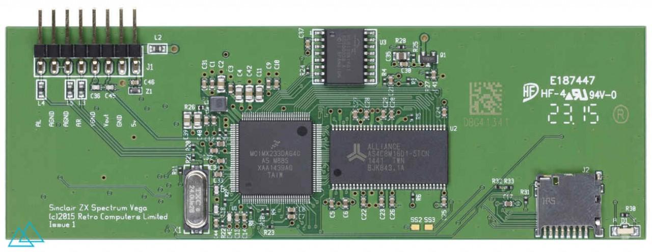 # 130.1 Sinclair ZX Spectrum Vega Main Board
