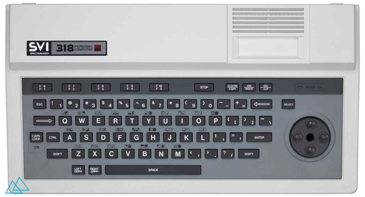 # 131 Spectravideo SVI 318 Mk 2