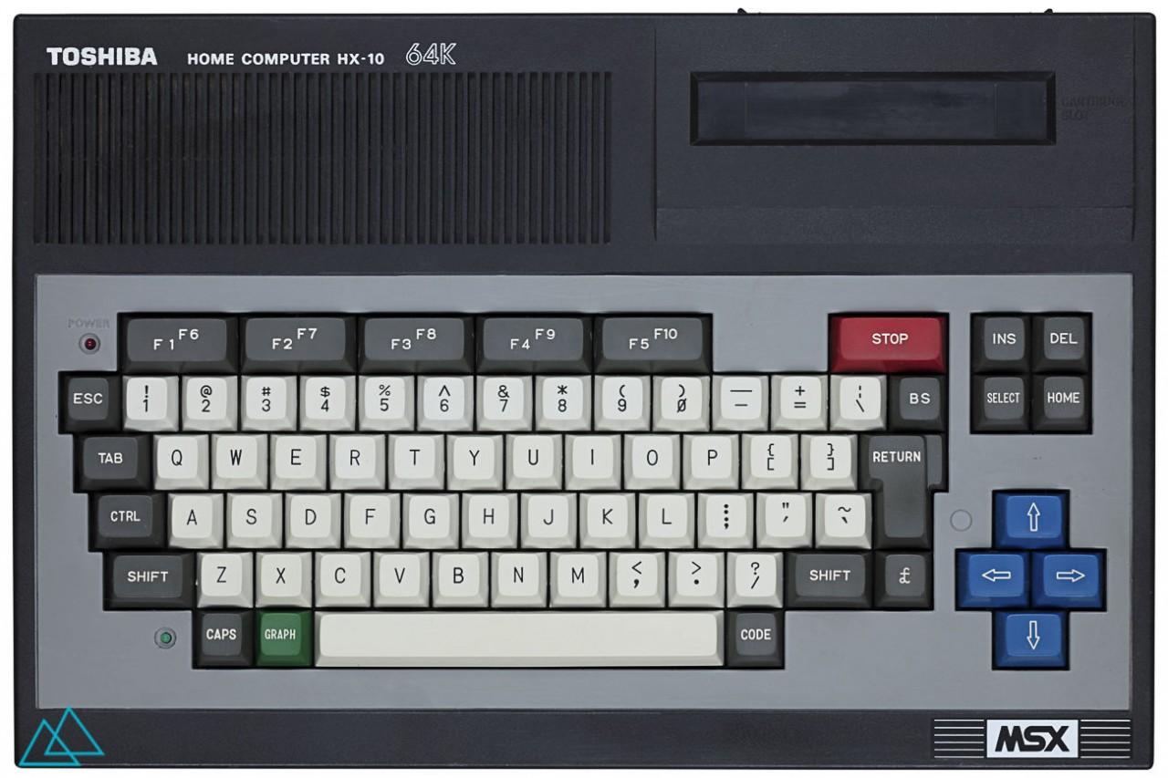 # 142 MSX Toshiba HX 10