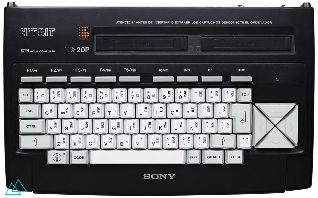 # 144 MSX Sony HitBit HB-20P