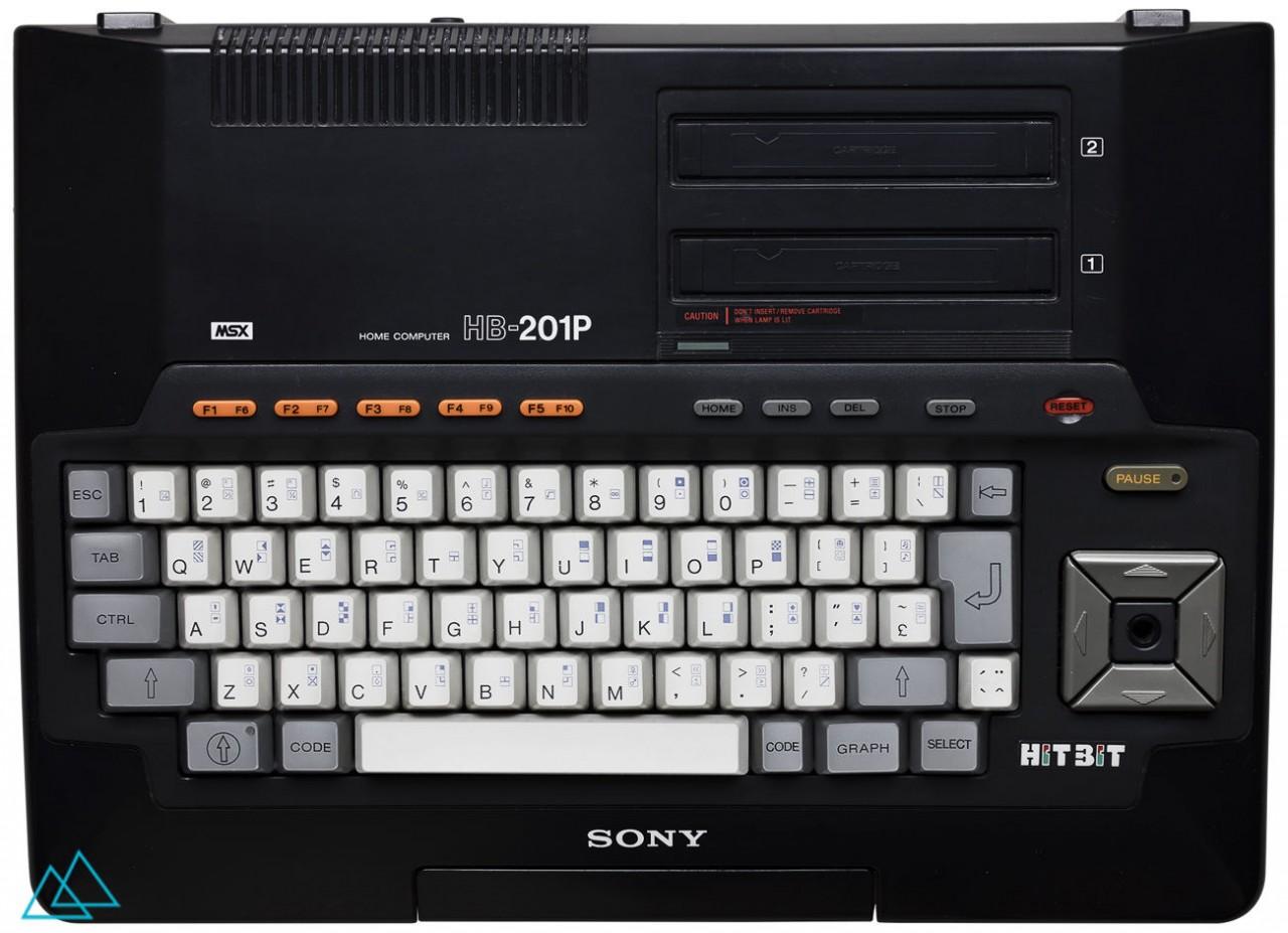 # 147 MSX Sony HitBit HB-201P