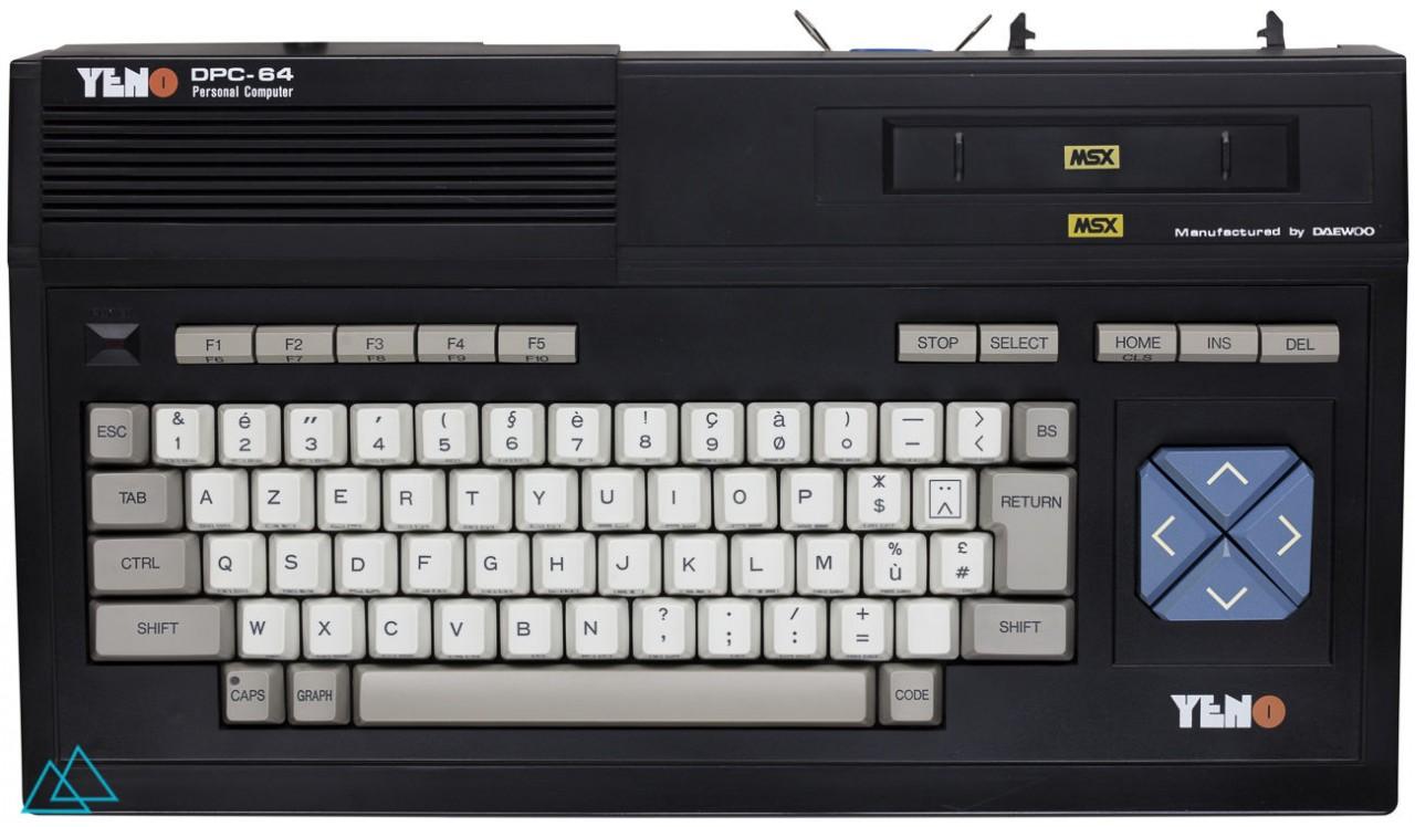 # 155 MSX Yeno DPC 64 aka Daewoo DPC-200
