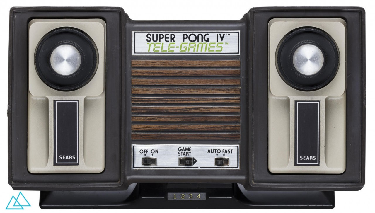 # 184 Sears Tele-Games Super Pong IV