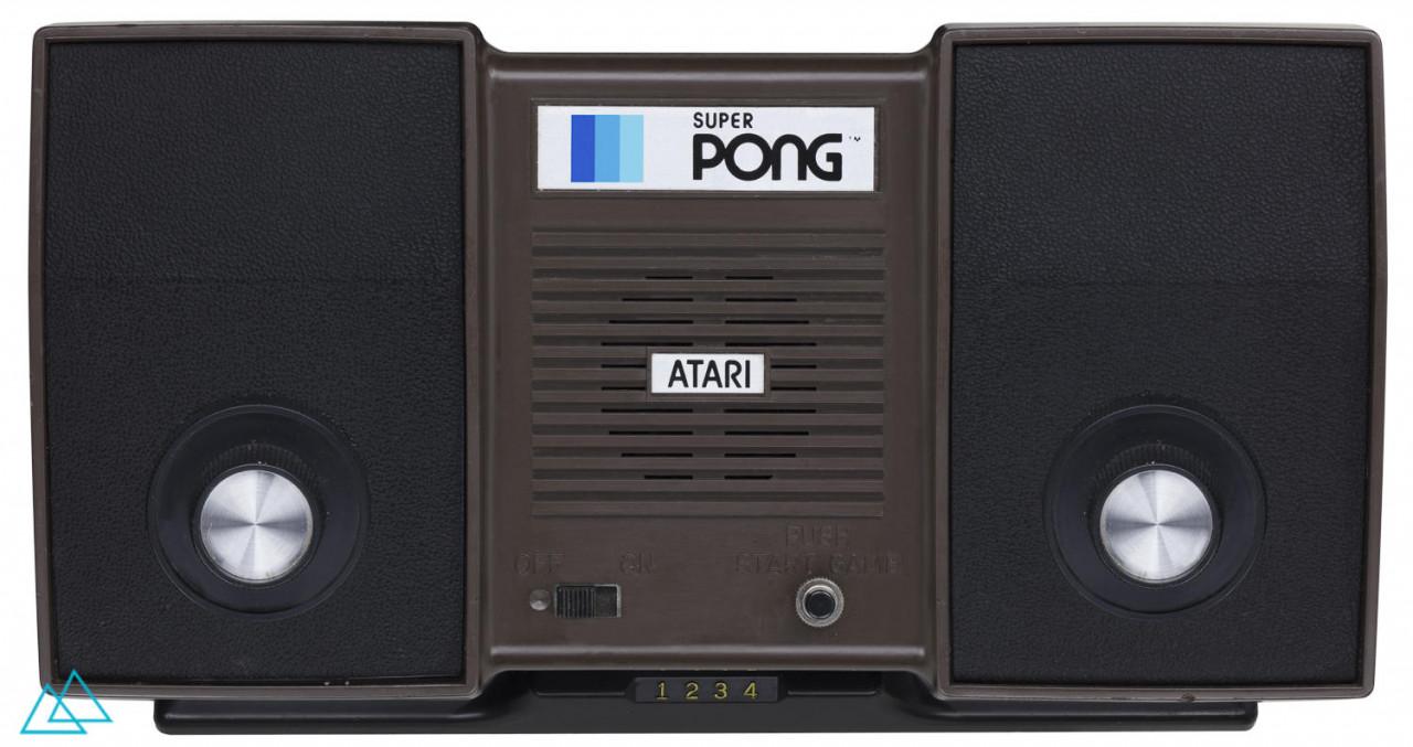 # 205 Atari Super Pong (C-140)